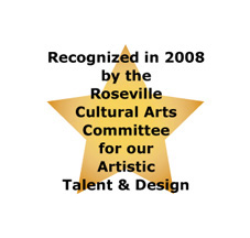 2008 Roseville Arts Committee Artist Talent & Design Winner